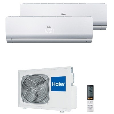 Мульти сплит система Haier AS09NS4ERA-Wx2 / 2U18FS2ERA(S)